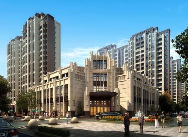 吴忠淮安绿地国际街区